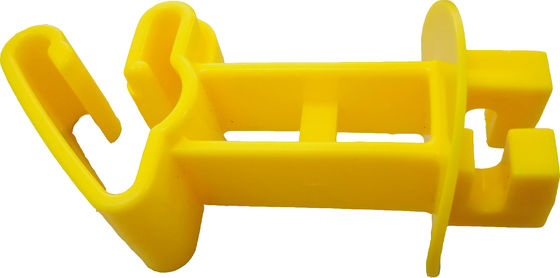 China Yellow HDPE Snug Extra Long T-post Insulator for Electric Fencing System supplier