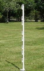 PST013W PP UV Electric Fence Posts For Temporary Fence